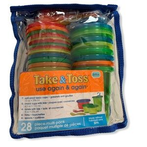 The First Years Take & Toss 28 Piece Variety Bag